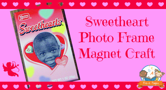 Valentine Photo Frame Craft Activity