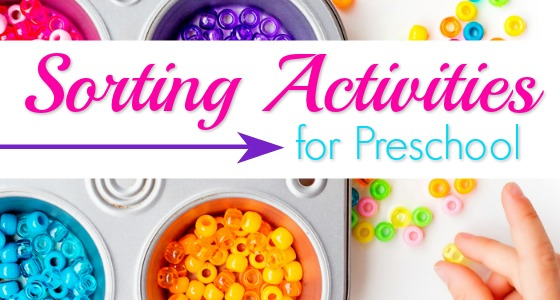 Sorting Activities for Preschool