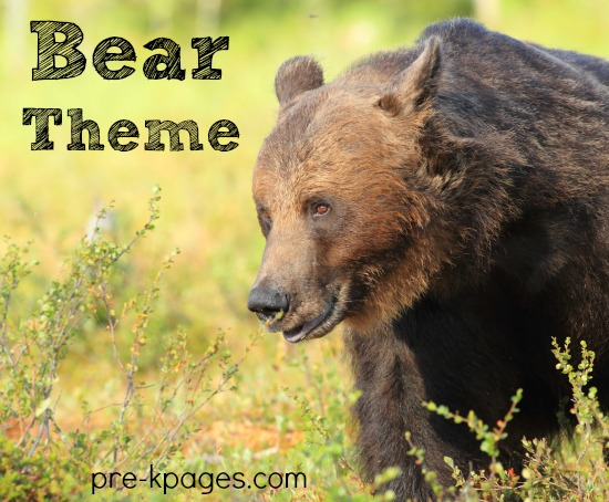 Preschool Bear Theme Activities