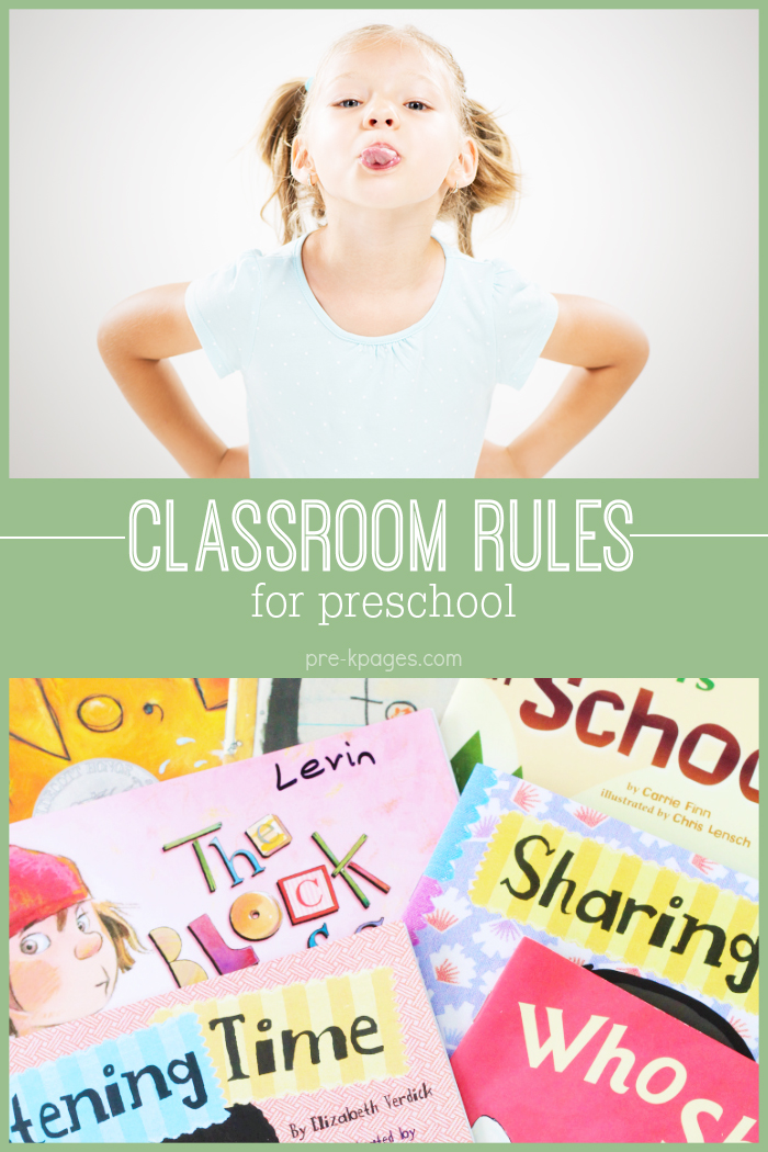 Classroom Rules for Preschool and Kindergarten