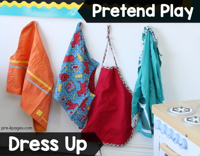 Dress Up Clothes for Pretend Play in Preschool