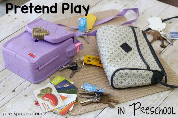 Dress Up Props for Pretend Play in Preschool