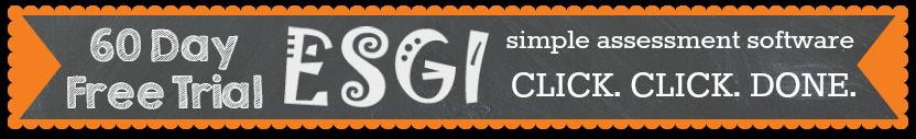 ESGI Simple Assessment Software for Preschool, Click Click Done