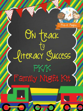 Family Literacy Night Packet