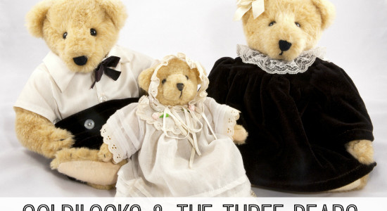 Goldilocks and the Three Bears Story Preschool Activities