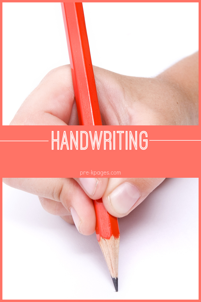 Preschool Handwriting Fine Motor Skills