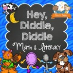 Hey Diddle Diddle Nursery Rhyme Lessons for Preschoolers