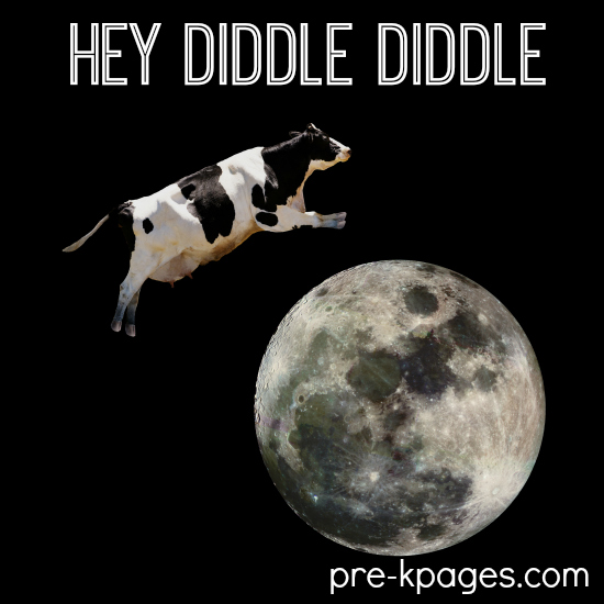 Hey Diddle Diddle Theme Activities for Preschool and Kindergarten
