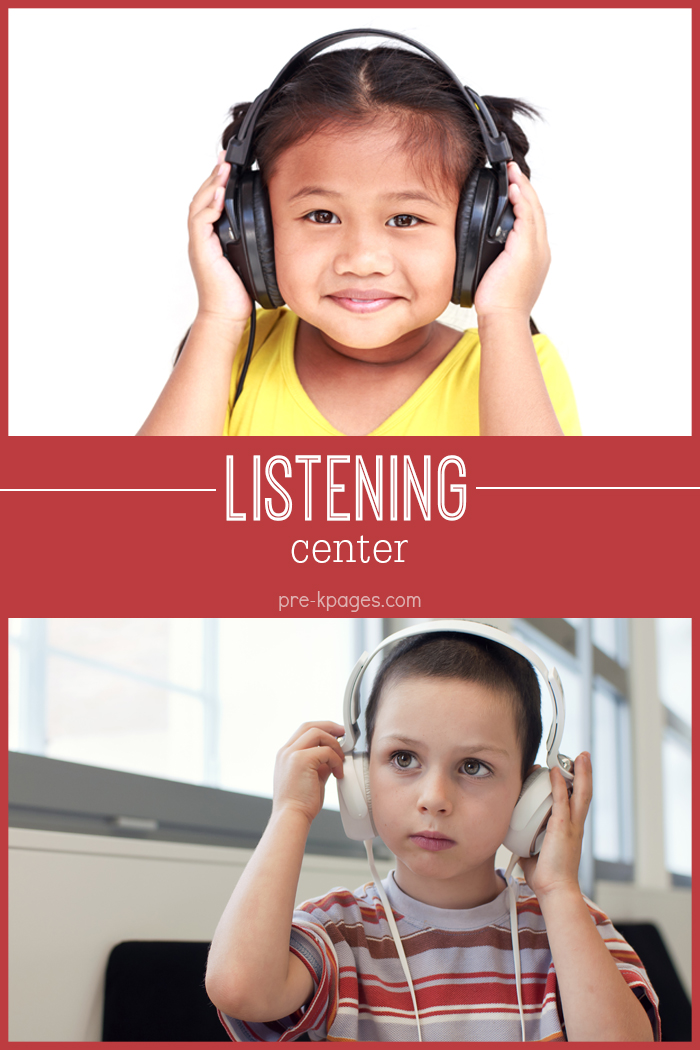 Listening Center for Preschool