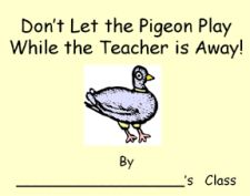 Printable Pigeon Template for Class Book