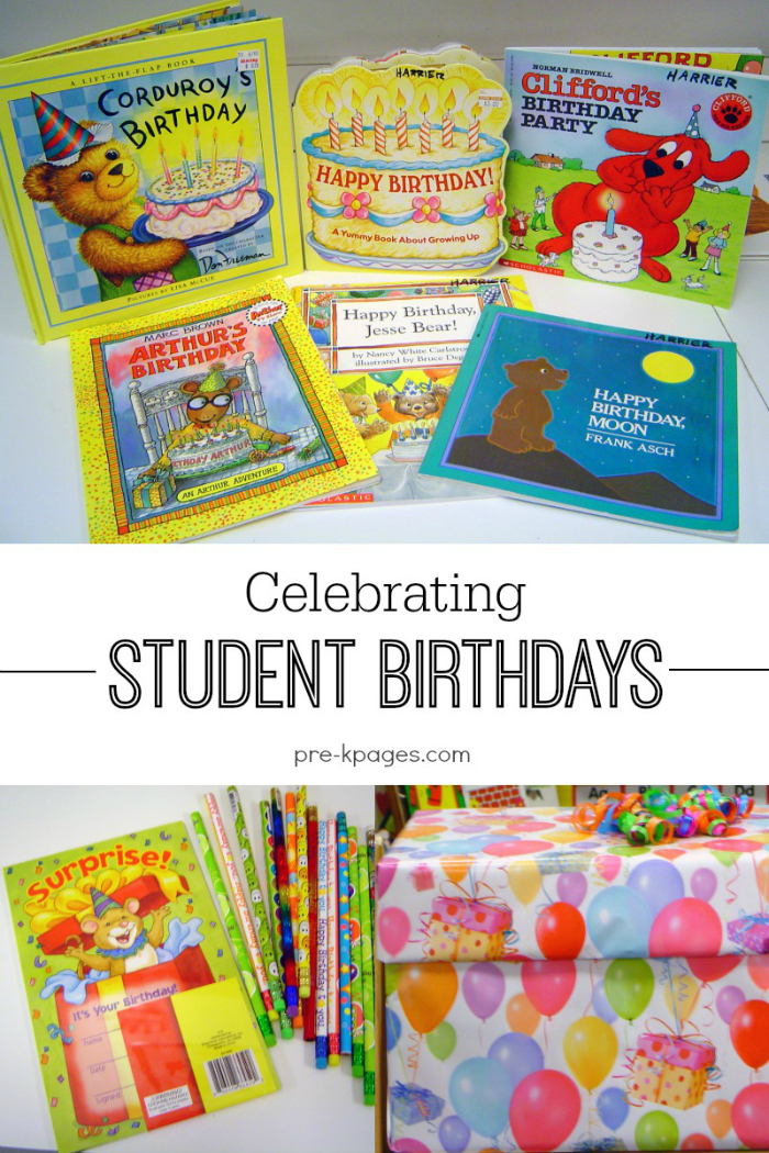 Celebrating Student Birthdays In Preschool Pre K And Kindergarten