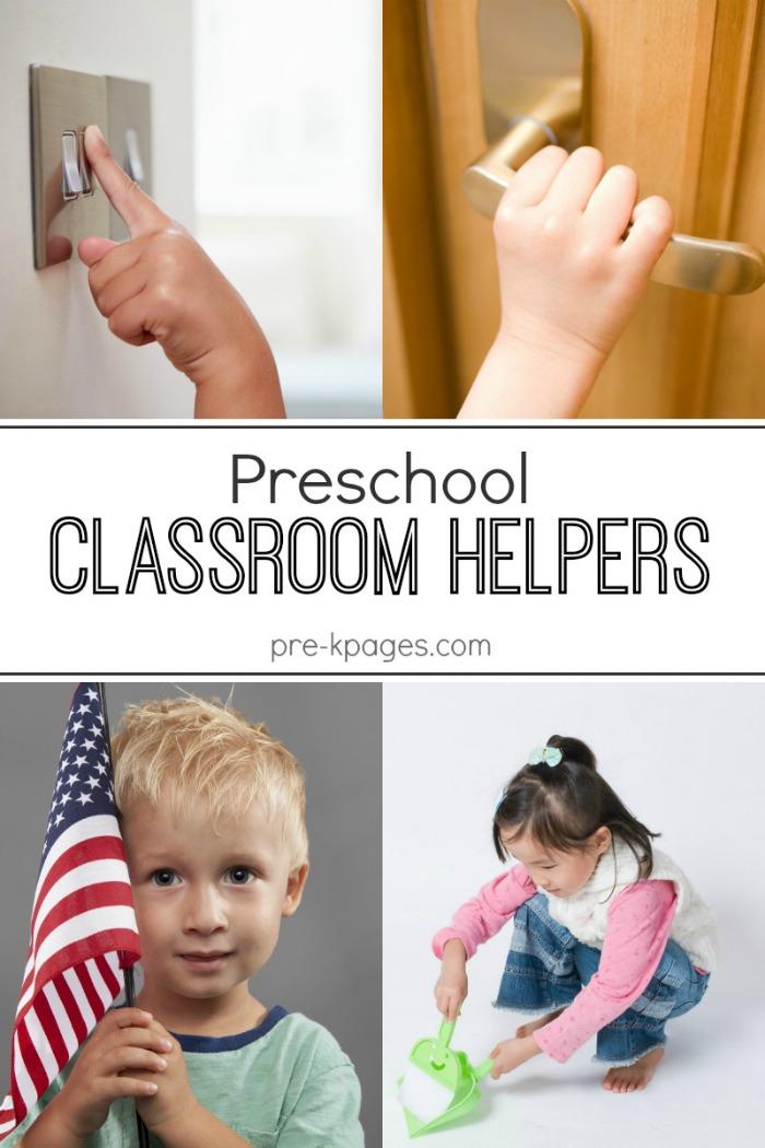 Preschool Classroom Helpers