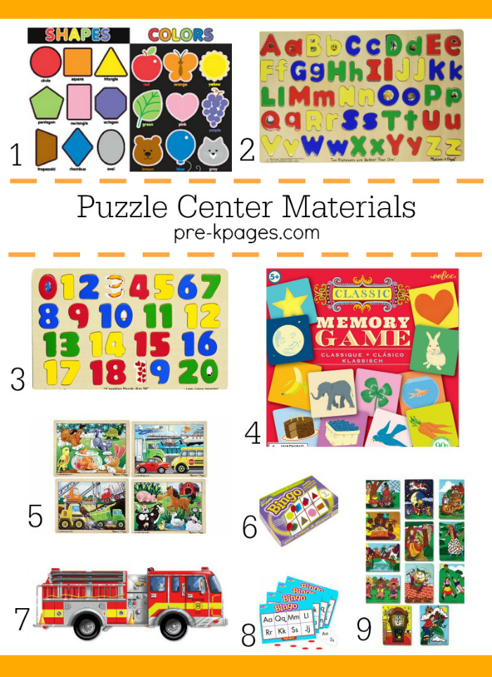 Puzzles And Games For Preschoolers