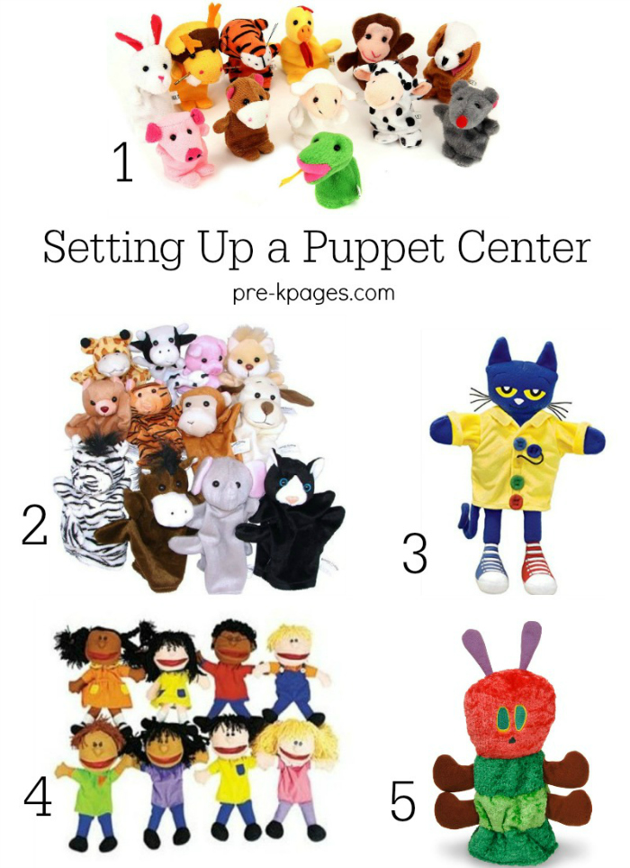 Setting Up a Puppet Center in Preschool
