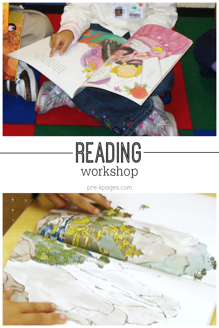 Tips for Reading Workshop in Pre-K and Kindergarten