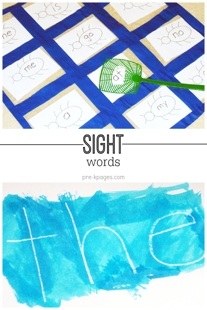 Tips for Teaching Sight Words to Kids