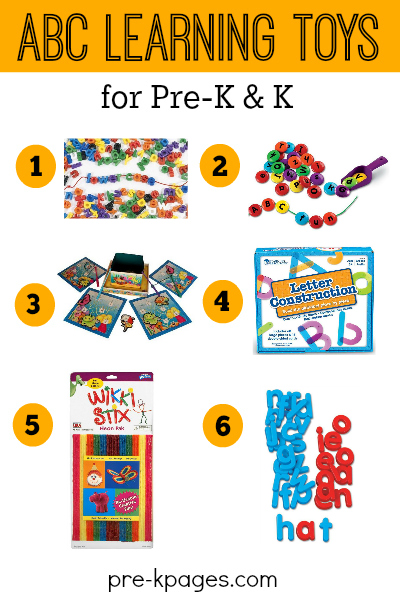Best Toys for Learning the Alphabet