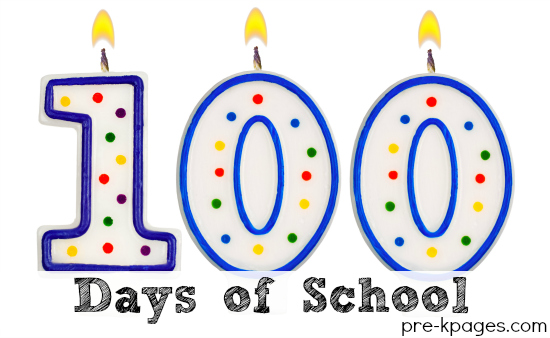 100th Day of School Activities for Pre-K and Kindergarten