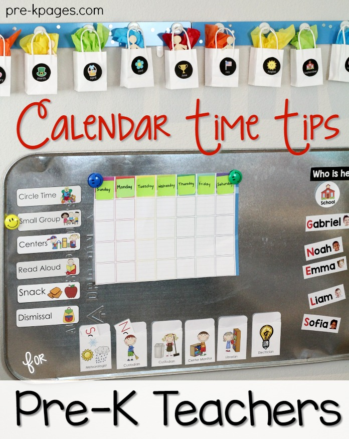 Calendar Time in Preschool