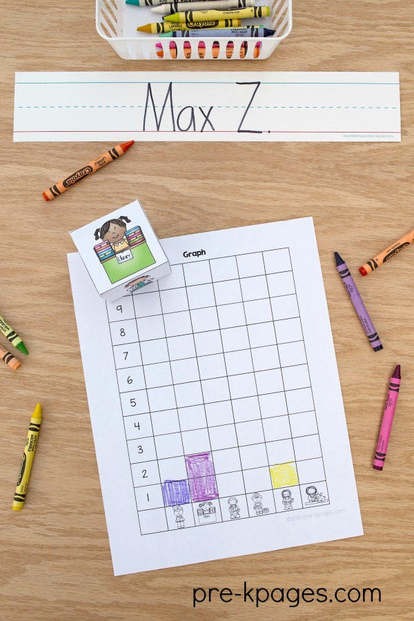 Community Helper Printable Graphing Activity
