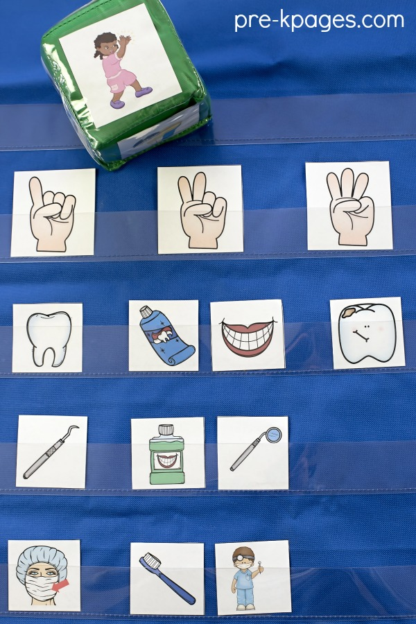 Dental Health Syllable Game