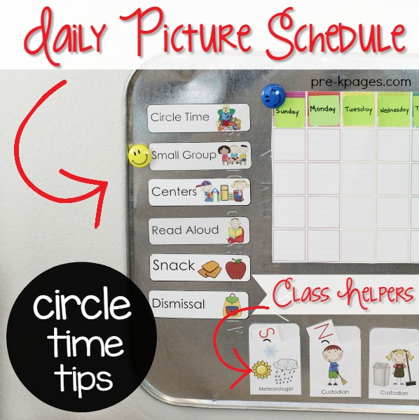 Preschool Circle Time Ideas