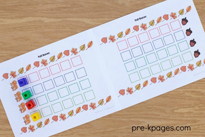 Printable Fall Group Board Game