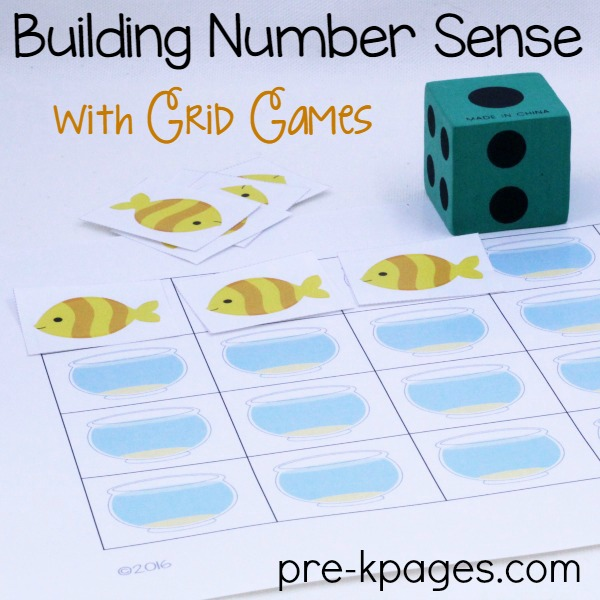 Printable Fish Grid Game