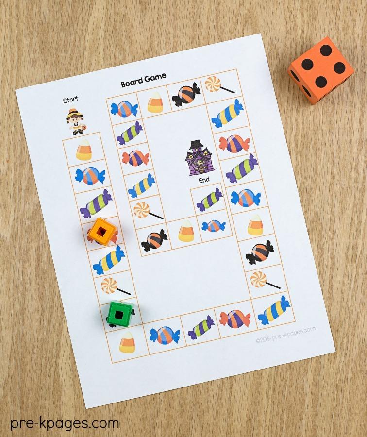graphic about Halloween Games Printable identified as Halloween Topic Pre-K Preschool Kindergarten