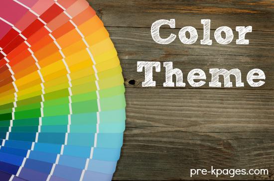 Preschool Colors Theme Activities