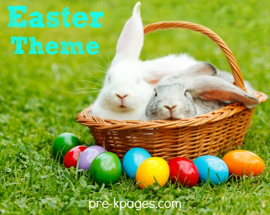 Easter Theme Activities for Preschool and Kindergarten