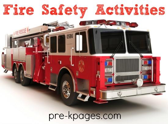 Preschool Fire Safety Activities