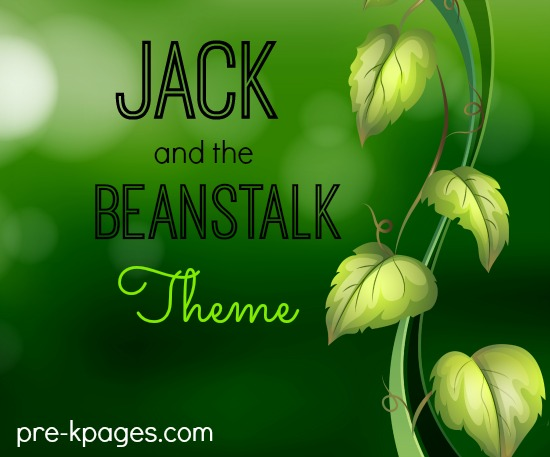 Jack and the Beanstalk Theme Activities for Preschool and Kindergarten