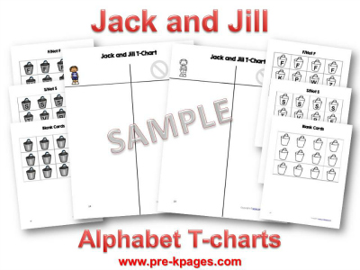 Jack and Jill Alphabet Sorting Activity