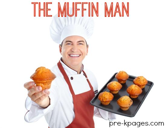 Muffin Man Theme Activities for Preschool and Kindergarten