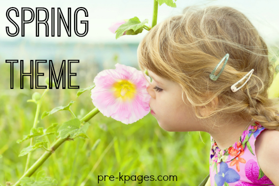Spring Theme Activities for Preschool and Kindergarten
