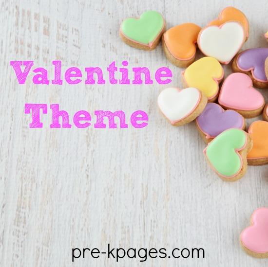 Valentine's Day Theme Activities for Preschool and Kindergarten