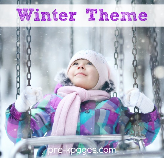 Preschool Winter Theme Activities