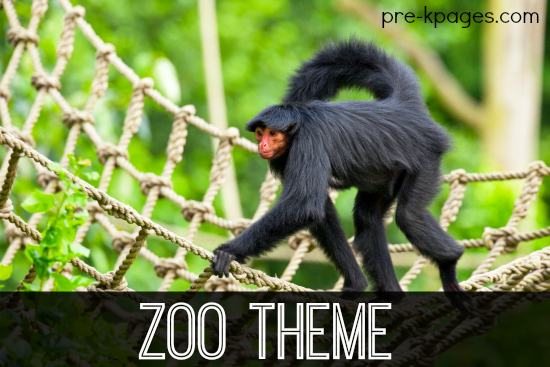 Zoo Theme Activities for Preschool and Kindergarten