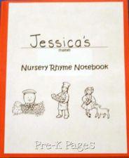 Nursery Rhyme Notebooks