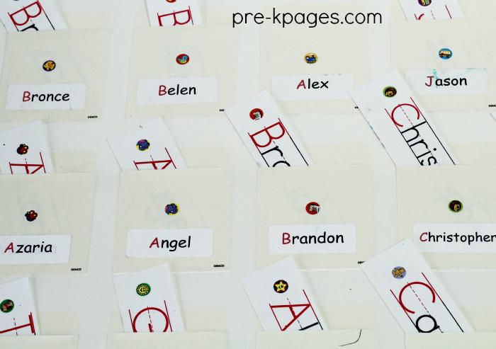 Name Chart in Preschool
