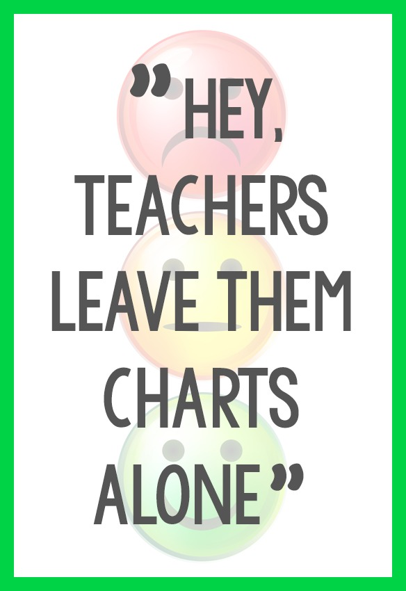 No More Behavior Charts