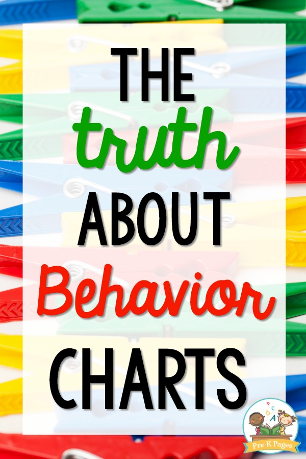 Behavior Chart for Preschool and Pre-K