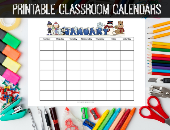 graphic regarding Preschool Calendar Printable known as Printable Research Calendars Preschool Kindergarten