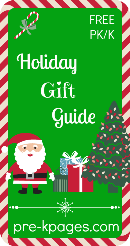 Free Holiday Gift Guide for #preschool and #kindergarten