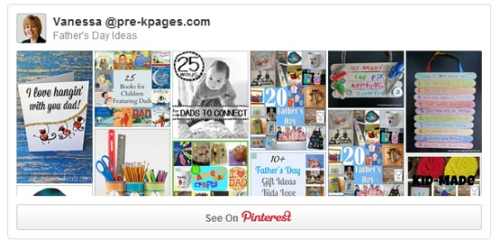 Father's Day Pinterest Board