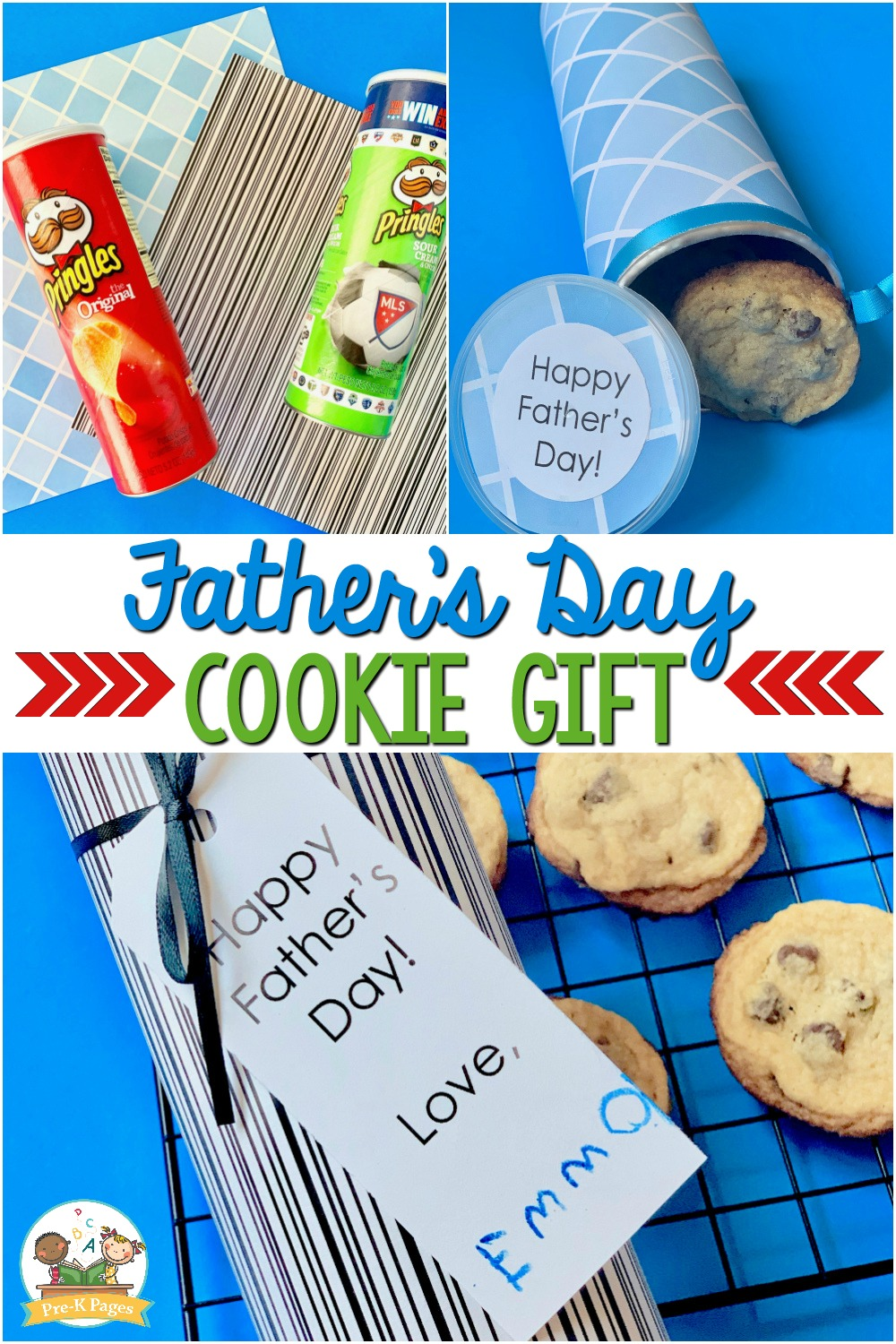 Fathers Day Gift Kids Can Make Cookie Can