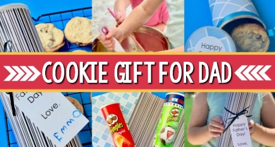 Father's Day Gift Kids Can Make: Cookie Can