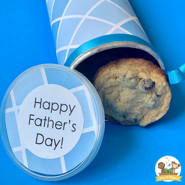 Make a Cookie Can for Fathers Day