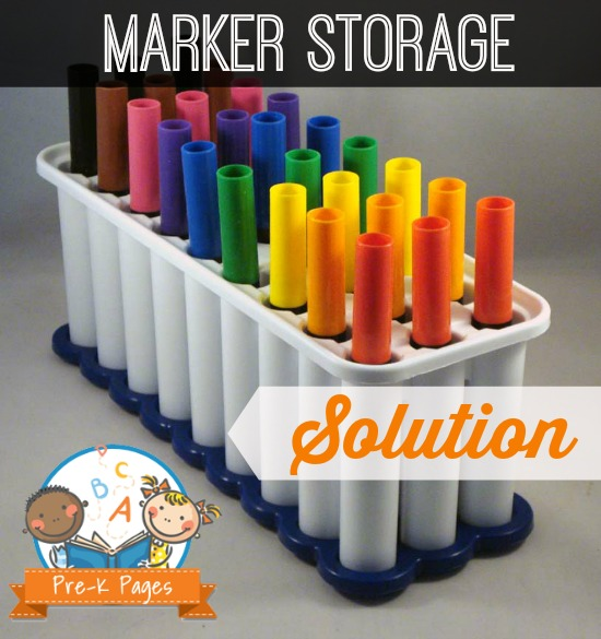 Classroom Marker Storage Solution